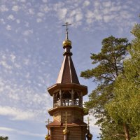 Часовня в честь Святых Равноапостольных Кирилла и Мефодия :: Светлана Винокурова