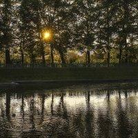 Пруд в Летнем саду на закате :: Valerii Ivanov