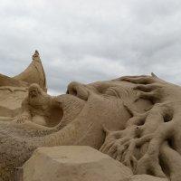 Песочные скульптуры в Финляндии :: Александра Борисик