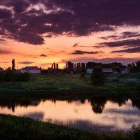 Вечер в деревне :: Евгения Порядина