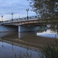 Сентябрь.Вечер,мост. :: Igor Yakovlev