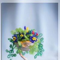 цветы в вазе :: Людмила Дождь