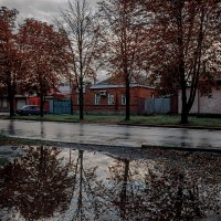 Осенний вечер в Таганроге :: Константин Бобинский