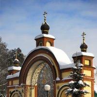 Ворота в Петропавловскую церковь (Московская обл. пос. Ильинский) :: Aleks