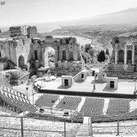 Odeon Tauromenium. Greek Theatre :: Igor Nekrasov
