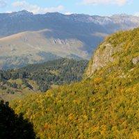 Вид на хребет Абишира-Ахуба :: Светлана Попова