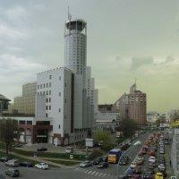 Зелёные облака в Москве весной 2012 года :: Михаил Силин
