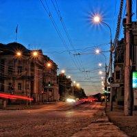 взлётные огни ... :: Роман Шершнев