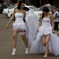 девушки в белом :: Владимир Бурдин