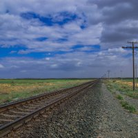 Дорога в Атырау :: Wanderer Burunduck