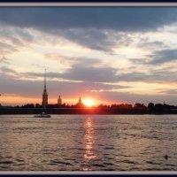 Закат в Питере. :: Наталья Белякова
