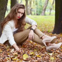 Осенний парк :: Дарья Маркозова