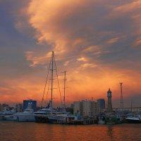 Закат на Балеарском море :: Ирина Кононова