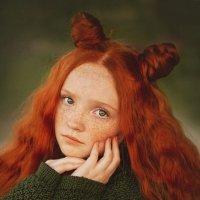 Девочка с веснушками :: Kananphoto