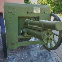 Пушка времён гражданской войны. :: Виталий Бобров