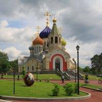 .Переделкино,храм Игоря Черниговского :: Ninell Nikitina