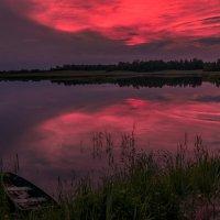 Летний закат :: Вячеслав Побединский