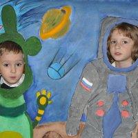 Мы в космосе :: Борис