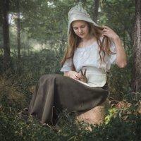 Девушка с кроликом :: Виктория Гревцева