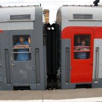 На Казанском вокзале в Москве :: Сергей Золотавин