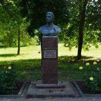 Шахты. Памятник Сергею Трофимовичу Васюте. :: Пётр Чернега