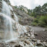 Водопад на горе Ай-Петри :: Вероника Куницына
