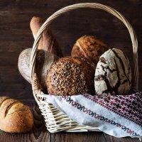 Корзинка хлеба на закваске :: Наталья Филипсен