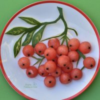 Креативная подача арбузика :: Лара Гамильтон