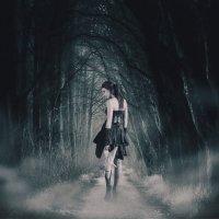 Таинственный лес или следуй за мной по тропе бездны :: Татьяна Тер-Акопова