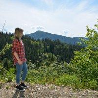 высоко в горах :: Светлана Бурлина