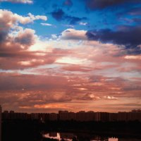 ..закат над городом :: Pasha Zhidkov