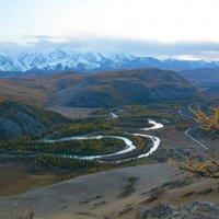 Над горной рекой. :: Валерий Медведев
