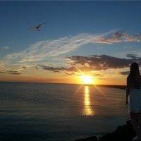 Любование закатом... :: Natali
