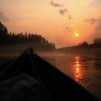 Вечер на реке :: Галина Ильясова