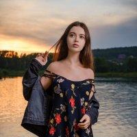 На закате. :: Александр Ломов