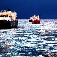 Вечер в Арктике. :: игорь кио