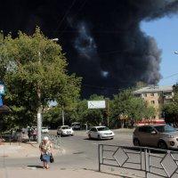 Пожар в Самаре :: Александр Алексеев