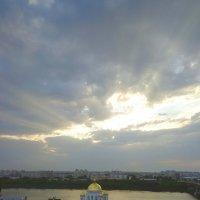 Небо над монастырем. :: Наталья Сазонова