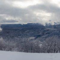 Зимняя панорама п.Мезмай :: Александр Светлый