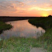 Текет,ещё речка.... :: Андрей Хлопонин