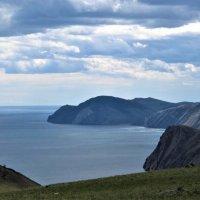 Тучи над Байкалом. :: Оксана Н