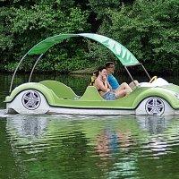 на машине по воде :: юрий иванов