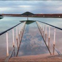 Мёртвое море. Утро. :: Валерий Готлиб
