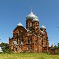 Казанский монастырь в селе Горушка Даниловского района :: Евгений Кочуров