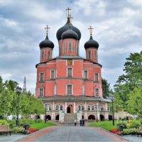 Донской монастырь ( фото с телефона ) :: Константин Анисимов