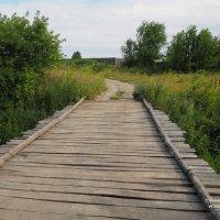 Мост через сельскую речку :: Сергей Воинков