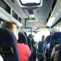 Туристы в салоне микроавтобуса :: Евгений БРИГ и невич