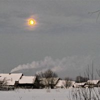 Зима на хуторе :: irina Schwarzer