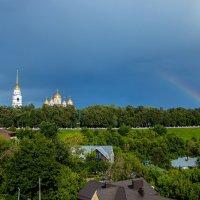 Успенский собор и радуга :: Andrew