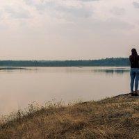 Вечер на озере. :: Сергей l